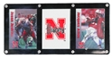 Back to Back Champs Allen N Jenkins Player Cards Nebraska Cornhuskers, 2004 Schedule Card